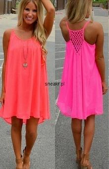 Sukienka NEON! <3 Kliknij w zdjęcie i zobacz więcej!
