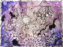 Watercolor universe :) Zapraszam na Fool Moon na FB