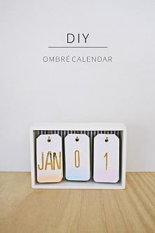 kalendarz DIY
