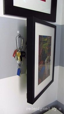skrytka na klucze..
