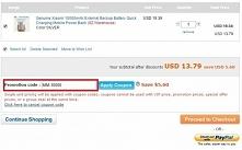 Aktualne kupony ze sprawdzonych chińskich stron, które można wykorzystać podczas robienia zakupów.