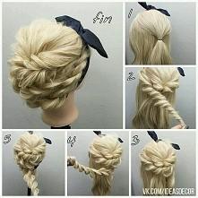 Śliczna I prosta fryzura