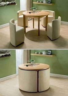 Pomysłowy stolik kawowy z c...