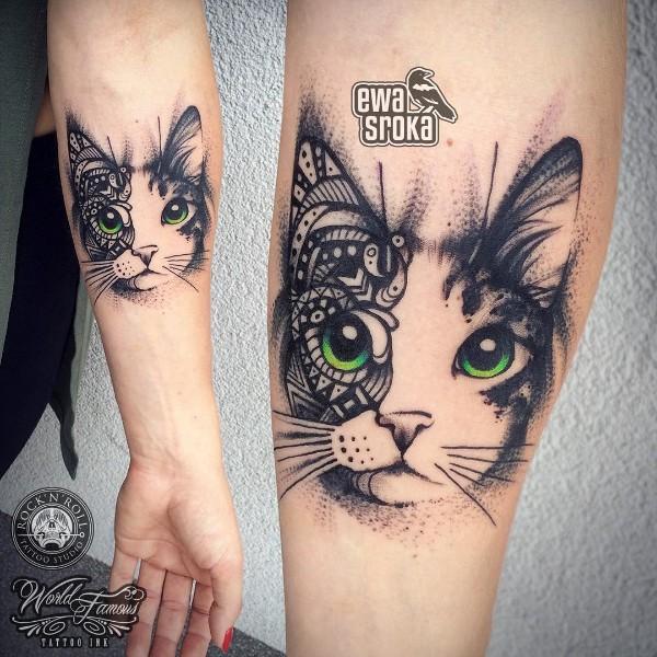 Kotek Ewy Sroki Na Tatuaże Piercing Zszywkapl