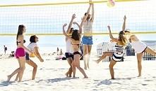 Sporty plażowe. Siatkówka p...