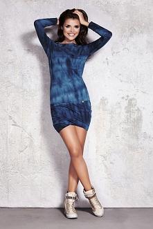 Bawełniana sukienka z długi...