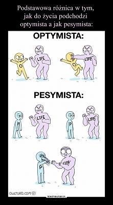 Różnica między pesymistą a ...
