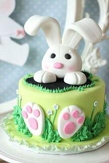 ciasto wielkanocne królik