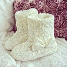 Na ciepłe urocze buciki zaw...