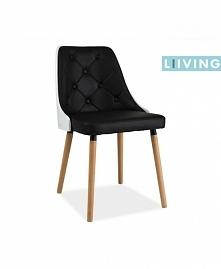 Krzesło z oparciem pikowanym.Na sprzedaż