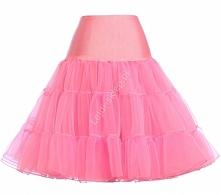 Jasno różowa halka pod sukienkę
