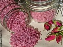 Aromatyczny cukier różany /przepis po kliknięciu w zdjęcie/