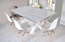 Duży stół na 8 krzeseł Nogi...