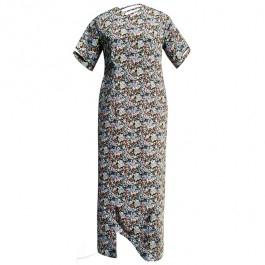 Sukienka ażurowa w kwiatki plus size, do zamówienia w butiku Łatka fashion.