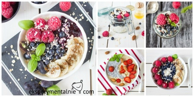 10 pomysłów na śniadanie latem - zdrowe i pyszne śniadanie z owocami