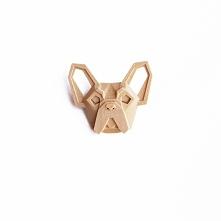wydruk 3D - buldog broszka, brelok lub naszyjnik - do wyboru  po więcej zajrz...