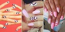 16 ślicznych inspiracji na paznokcie w paski