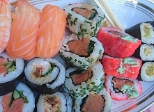 Sushi. Must have .