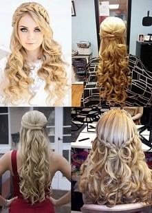 fryzury na długich włosach