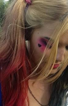 Makijaż Harley Quinn