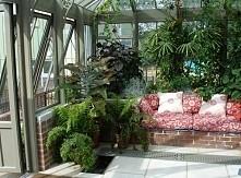 Ogród zimowy przy domu, całoroczny ogród, ogród zielony cały rok - zobacz jak...
