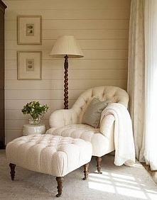 Fotel moich marzeń w sypialni moich marzeń :)