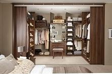 garderoba w sypialni