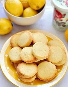 herbatniki cytrynowe