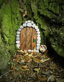 Leśne drzwi