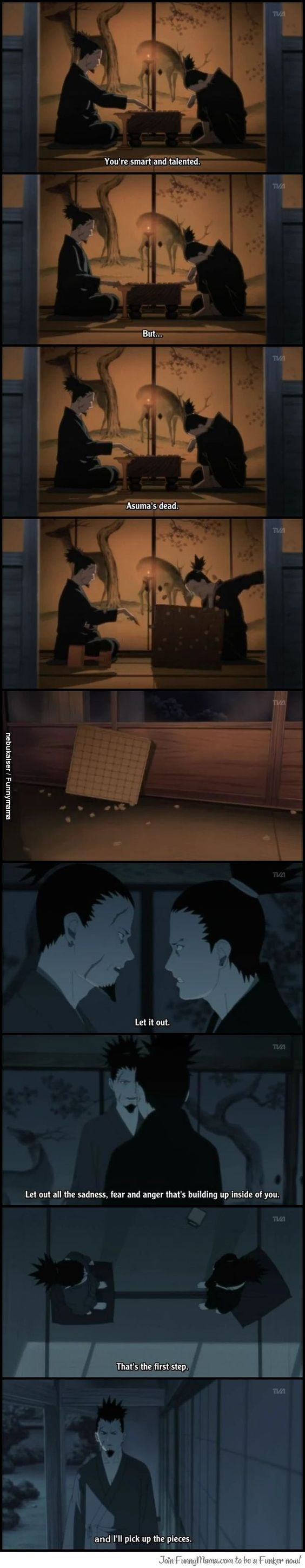Shikamaru... Asuma