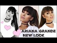 ARIANA GRANDE Makeup Tutorial 2016! New Bangs & Full Glam Look