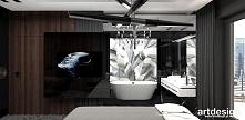 łazienka przy sypialni | CRY FOR THE MOON