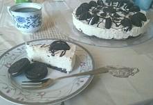 ciasto Oreo... wyszło pysznie