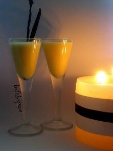 Ajerkoniak  Składniki:  200 ml mleka skondensowanego 5 żółtek 3 łyżki cukru p...