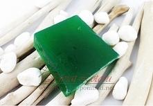 Naturalne mydło zielona glinka pomoc w leczeniu trądziku. Dostępne link w komentarzu