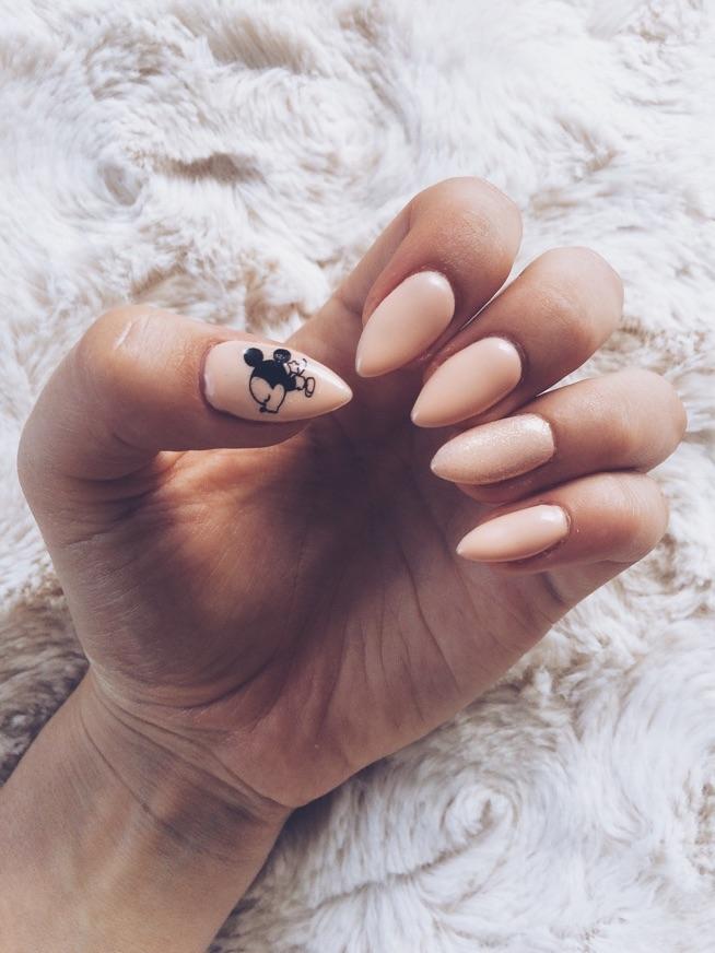 Pastelowe Z Myszką Miki Na Nails Zszywkapl