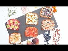 6 Superfood Summer Toasts   YUMMI  aż się chce każdej spróbować ;)