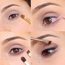 makijaż na opadające powieki