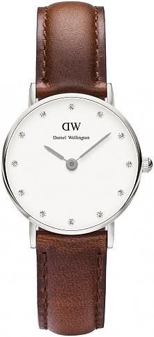 fantastyczny damski zegarek o klasycznym designie, wysadzany kryształami Swarovski
