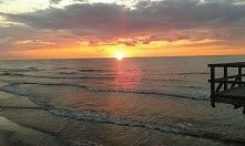 Piękny Bałtyk <3 i zachód słońca *-*