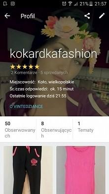 zapraszam super ceny, fajne ubrania :) wklejajcie swoje nazwy na Vinted.pl :)