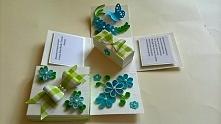 Pudełko okolicznościowe na ślub, pudełko eksplodujące:) Wykonam na zamowienie, moj e-maol: milena.szubinska@o2.pl