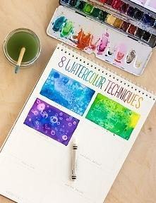 8 technik malowania