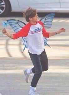 Louis w wydaniu wróżki ;)