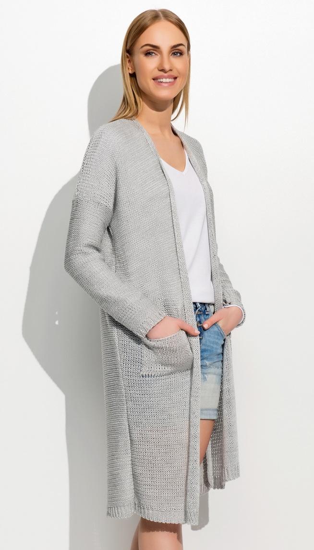 Długi sweterek kardigan model S39. Kliknij w zdjęcie i przejdź do sklepu. e-stil.pl