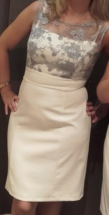 sukienka dla teściowej
