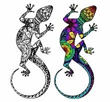 Rysunek cienkopisem, kolor dodany w Gimpie :) Ciuchy z obydwoma wersjami kolo...