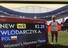 Anita Włodarczyk! Piękny wynik! Złoty medal IO i nowy REKORD ŚWIATA!! Nasza d...