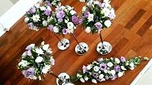 ***Małopolska/Podkarpacie*** Wolne terminy: bikiety ślubne, wystórj kościoła, sali, samochodu, podziękowania dla Rodziców - AB Flower Design! Zapraszamy na naszego Facebooka :)