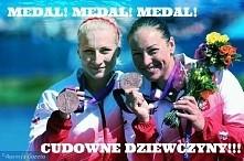 Brawo!!! Brąz!! Karolina Naja i Beata Mikołajczyk!! :-)